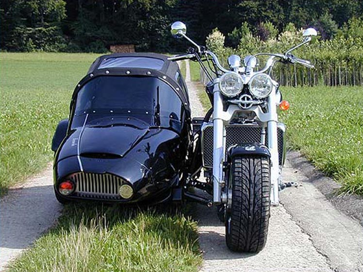 Triumph Rocket III Forum Gespann
