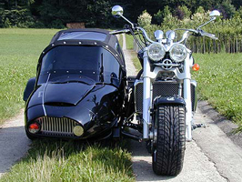 Triumph Rocket 3 Gespann