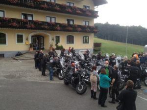Triumph Rocket III Forum Treffen in Wien