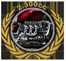 Rocketmotor 2.300cc
