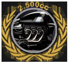 Rocketmotor 2.500cc